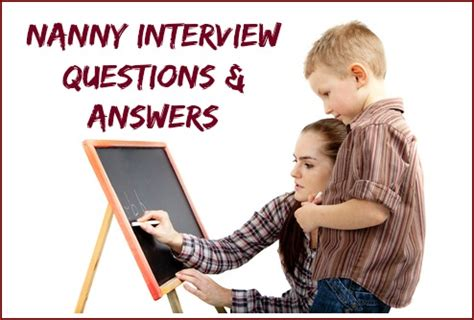 nanny questions and answers