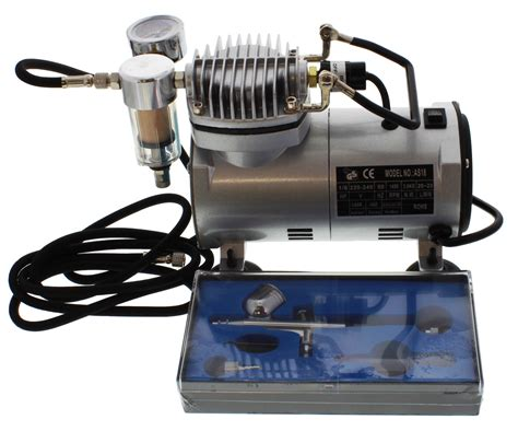 Mini Compressor Airbrush Set mini air compressor airbrush set at mighty ape nz