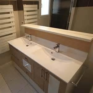 Sous Vasque Salle De Bain #3: Meuble-double-vasque-blanc-et-beige.jpg