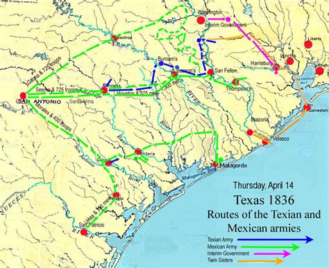san jacinto texas map the battle of san jacinto