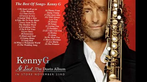 kenny g best of the best of songs kenny g