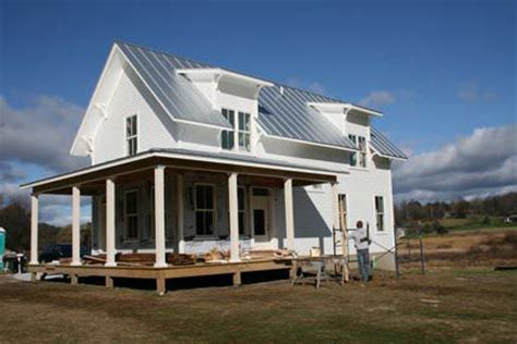 tiny farmhouse a smaller modern farmhouse in vermont small house style