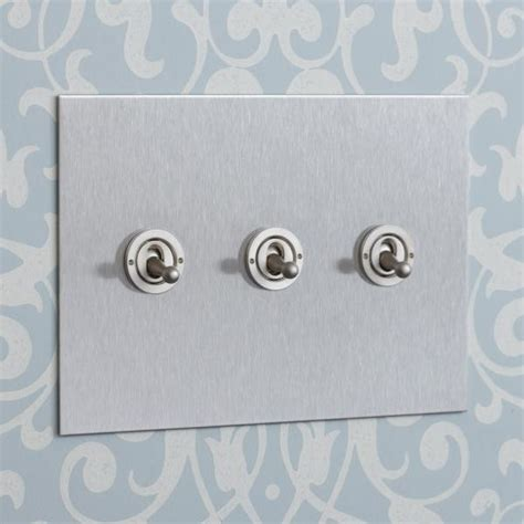 Flush Bathroom Ceiling Lights by Forbes Amp Lomax Stainless Steel Light Switch Range Dolly
