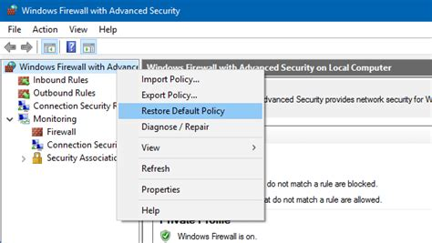 resetting windows firewall how to reset windows firewall settings to defaults