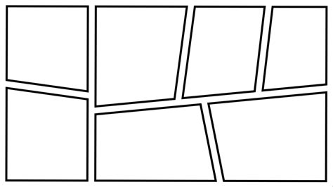 Comic Frame By Zarodas On Deviantart Comic Frames Template