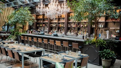 Kitchen Breakfast Bar Design Hotel Gallery By Nomo Soho In New York City