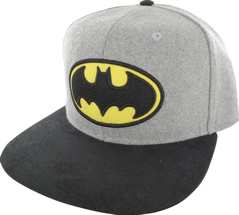 Buckle Hat batman logo felted crown buckle hat