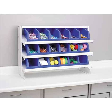 shelving unit for bins marketlab inc