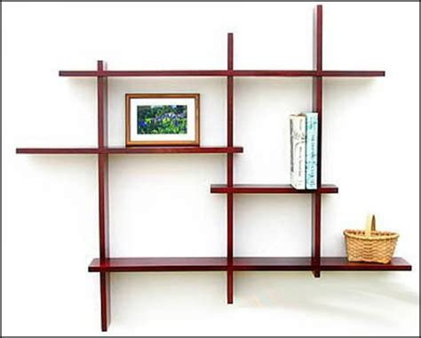 In Wall Shelves Decorative Modern Wall Shelves Recycled Things