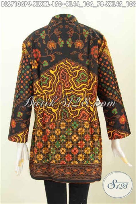 Baju Batik Atasan Wanita Lengan 79 Produk Terbaru Pakaian Batik Wanita Lengan Panjang Baju