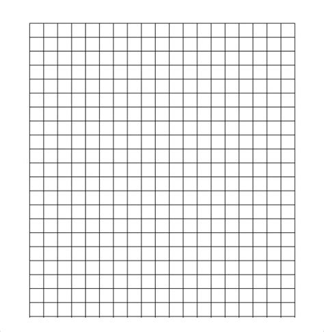 1 inch grid paper template sle half inch graph paper 6 free documents in pdf word