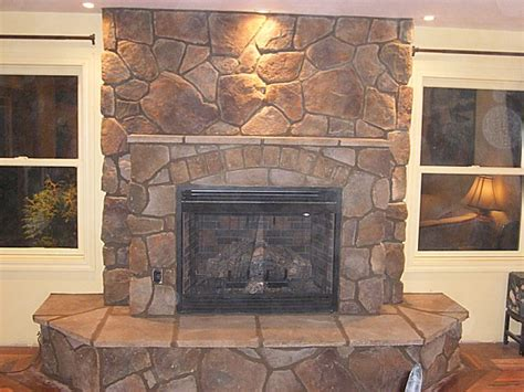stone fireplace images fireplace stone question masonry contractor talk