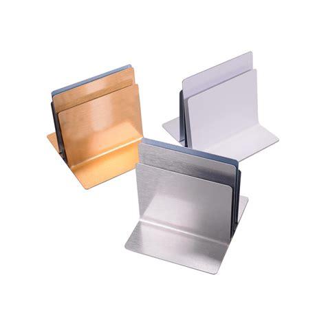 plain triple channel metal menu holders smart