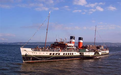 the rizla riverboat shuffle on the waverley steamer the list - The Waverley Boat