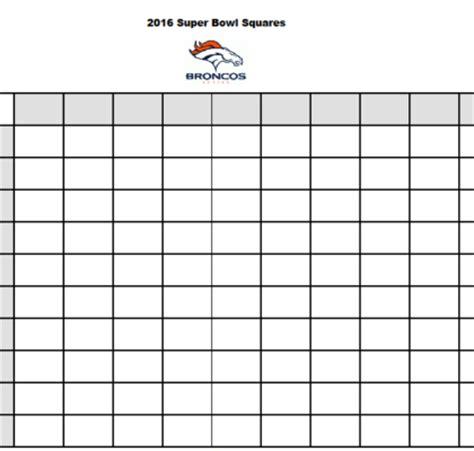 bowl boxes template free printable 2017 bowl betting squares stylish spoon