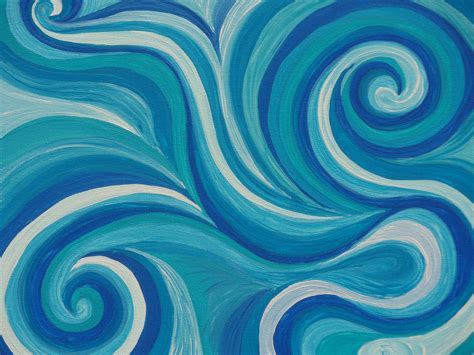 swirl pattern artists swirls michelle anderson art