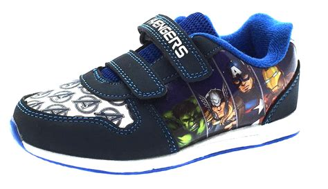 sports shoes boys boys marvel skate trainers flat sports shoes