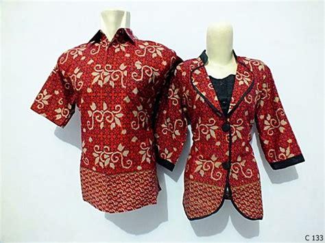 Kopu Top Blouse Atasan Kantor Batik model blus batik kerja wanita terbaru blue denim blouses