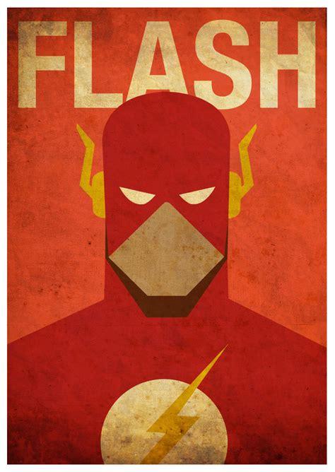 imagenes retro super heroes cool set of superhero minimalist posters sci fi design