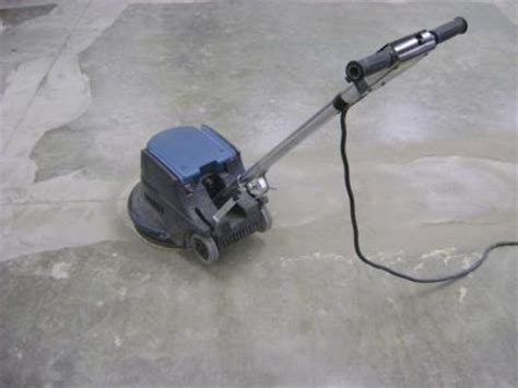 How To Sand Concrete Floor by Concrete Repair For Esd Floors