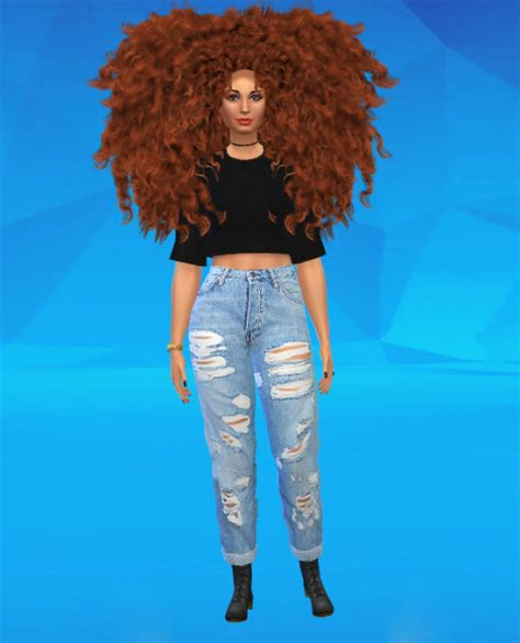 african cc hair for sism4 lana cc finds nanovieira remi hair by supremesims my