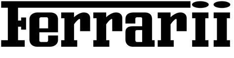 Ferrari Logo Font by Ferrari Font Download Famous Fonts