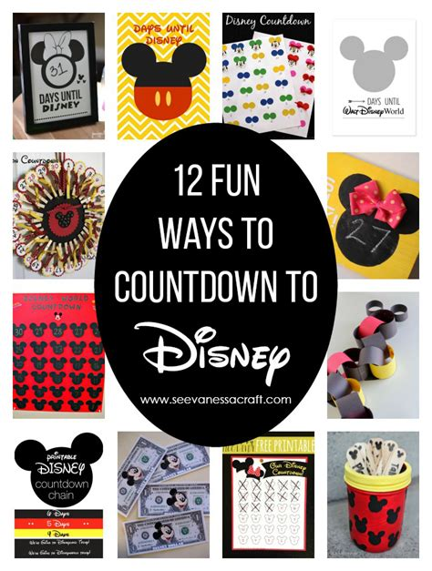Disney Countdown Calendar Printable Disney World Countdown Calendar Calendar