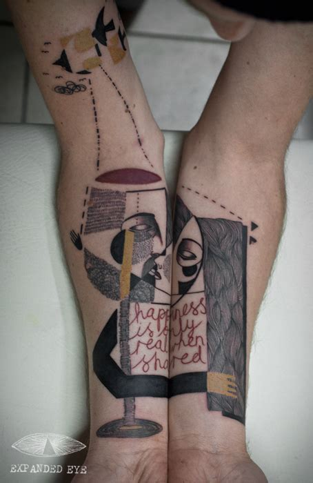 bicchieri cari un duo creativo realizza tatuaggi ispirati alla storia dei