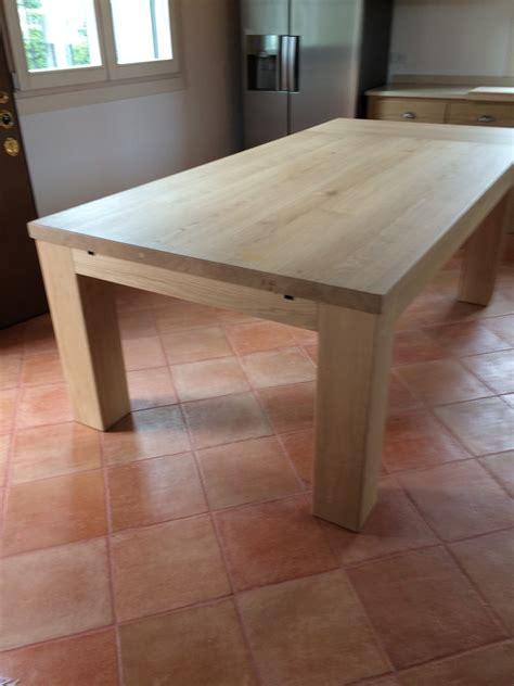 tavoli in rovere tavolo in rovere massello fadini mobili cerea verona