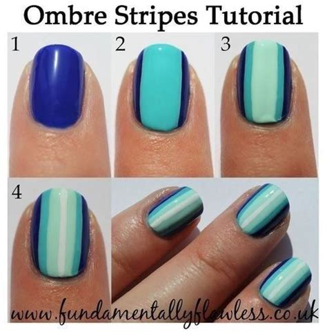easy nail art stripes nail tutorials how to paint a stripe nail art pretty