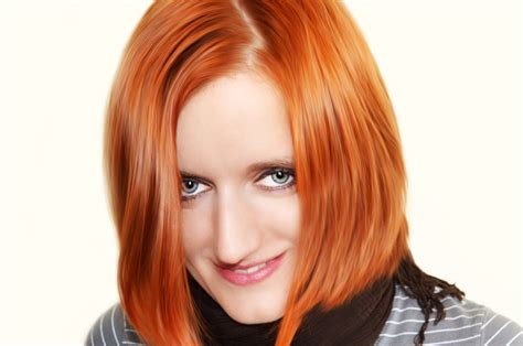 ladies hair color gallery woman with red hair free stock photo public domain pictures