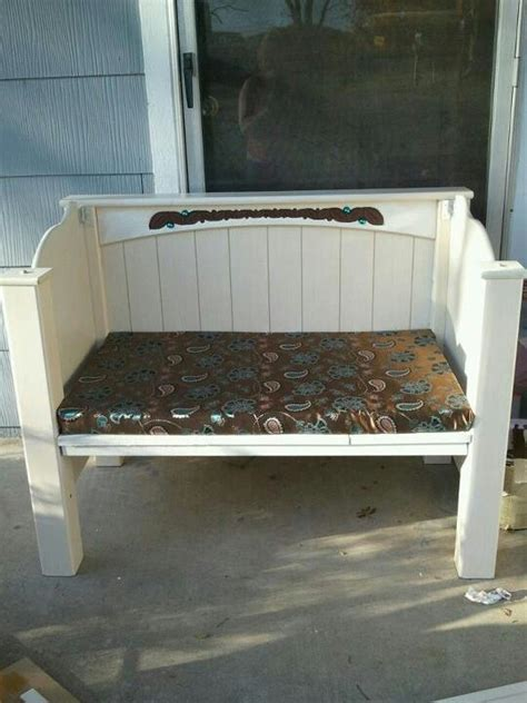bed into bench twin bed made into a bench betty crocker martha stewart