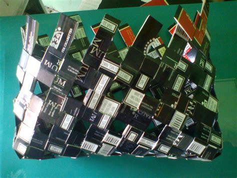membuat robot dari bungkus rokok tips membuat tas dari bungkus rokok komunitas kretek