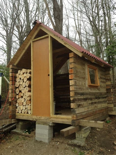 log cabin cordwood coop backyard chickens community