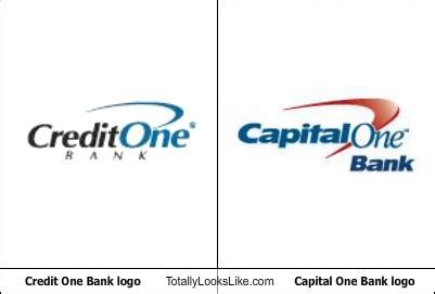 bank one credit dopplegangers visual