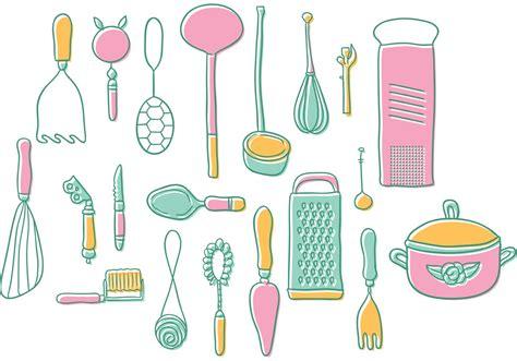vintage kitchen bilder vintage kitchen utensils vectors free vector