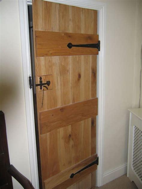 solid oak door 3 ledged door also known as the