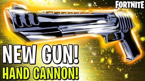fortnite cannon new gun the cannon fortnite
