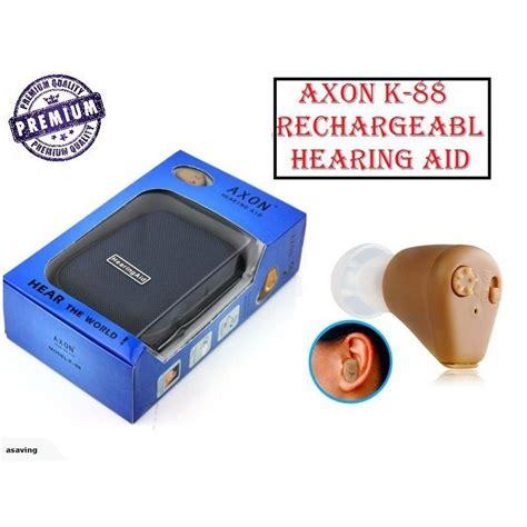 Hearing Aid Axon K 88 Hearing Aid Rechargeable Battery Axon K 88 Nz