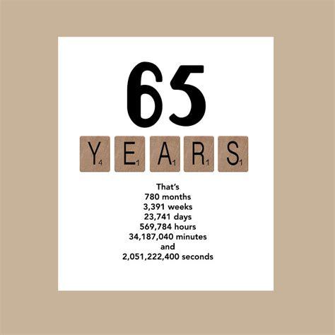 65 Birthday Quotes 65th Birthday Card Masculine Birthday Card Card For Him