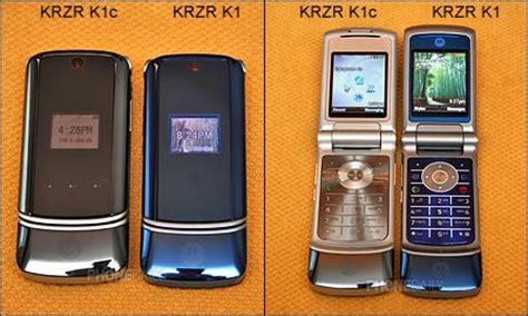 Handphone Sony Xperia Z6 motorola krzr k1 spesifikasi