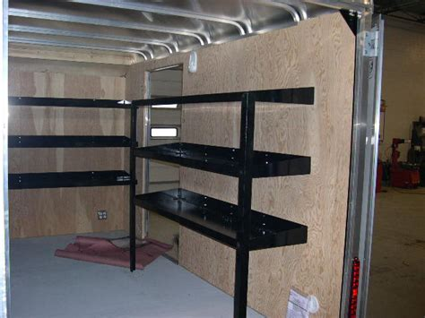 trailer shelving for sale all pro trailer superstore