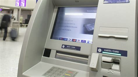 Deutsche Bank Geldautomat