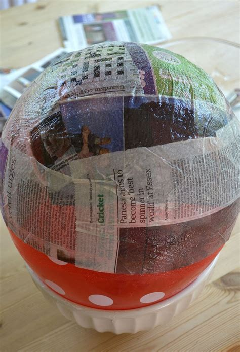 paper mache japanese style diy l shade ao