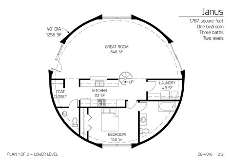 floor plan dl 3215 monolithic dome institute floor plan dl 4016 monolithic dome institute