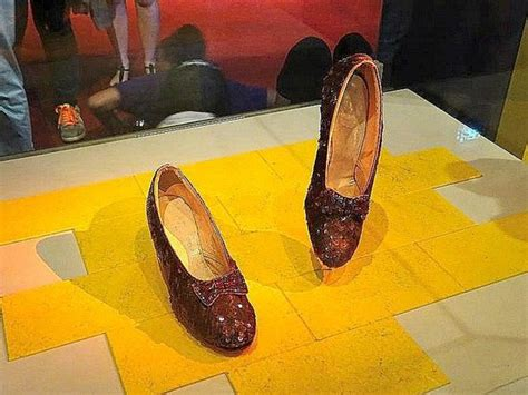 dorothy s slippers smithsonian dorothy s ruby slippers picture of smithsonian