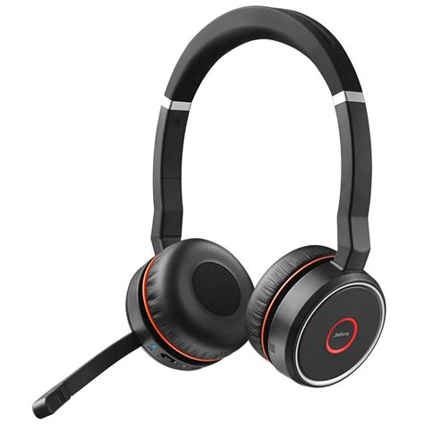 Headset Jabra Jabra Evolve 75 Duo Wireless Headset Skype For Business