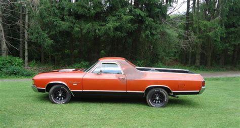 1972 chevy chevrolet 2 door el camino vintage classic