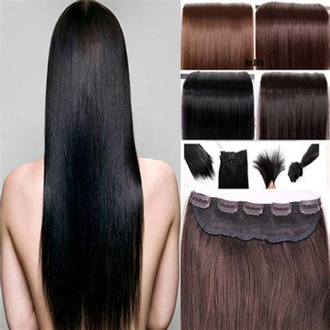one clip in 100 human hair extensions hair one clip in remy human hair extensions