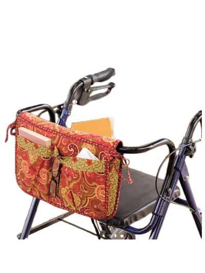 free pattern walker bag wheelchair walker carryall